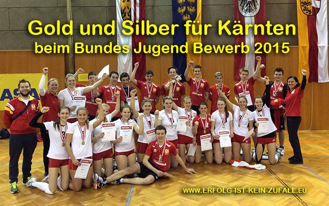Gold und Silber beim Bundes Jugend Bewerb